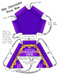 Chocolate Frog Box Design by Gaddia