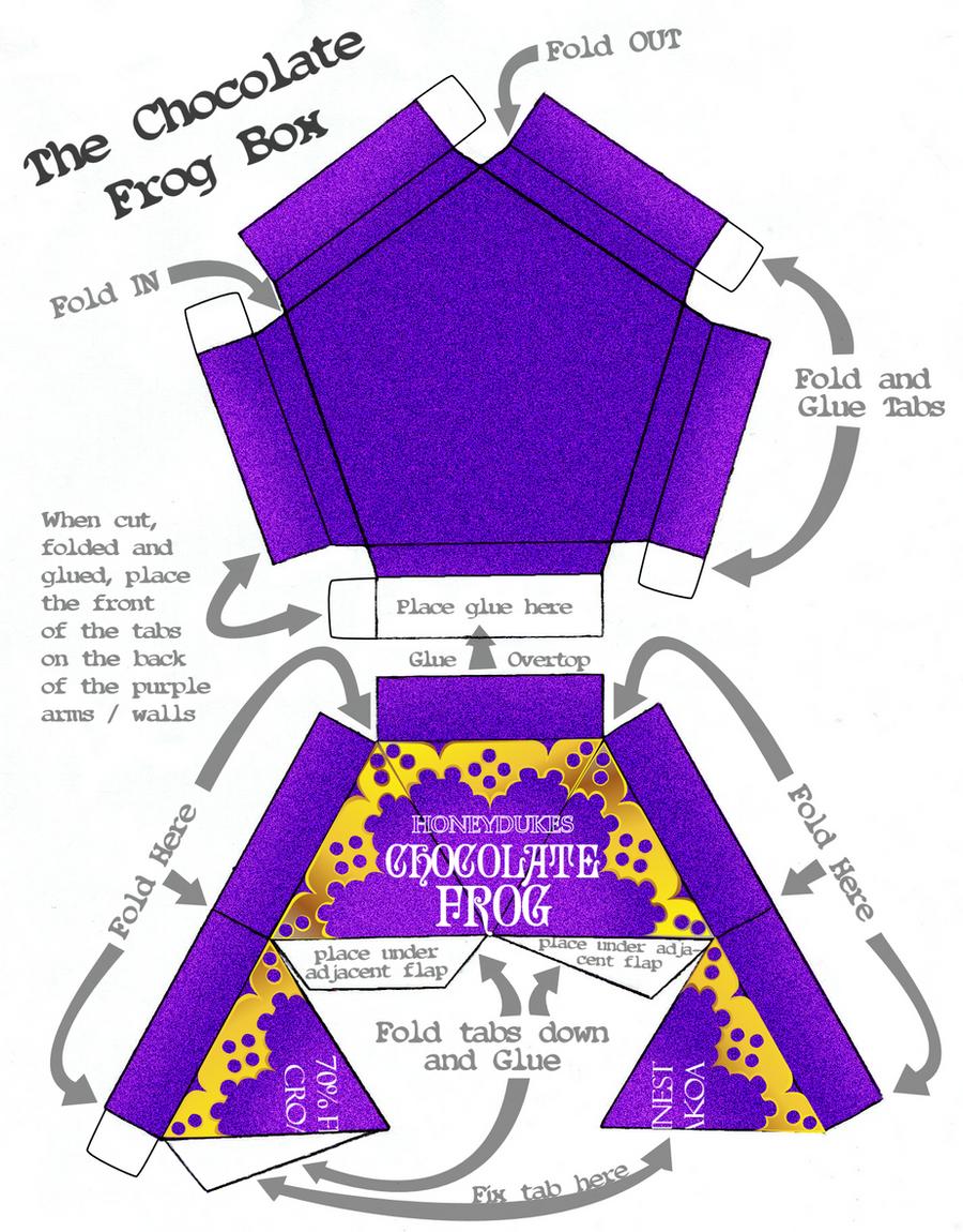 Chocolate Frog Box Design