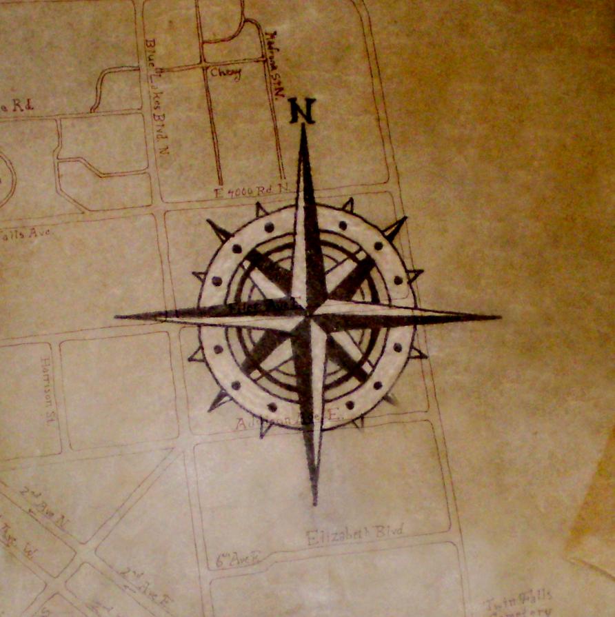 Pirate Compass by Gaddia on DeviantArt