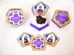 HoneyDukes Chocolate Frog box -With Matching cards