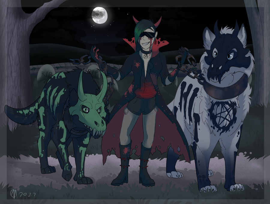 Costume Entry Hell Hounds