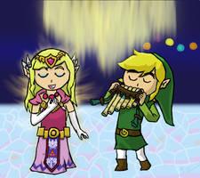 Link and Zelda Duet by LoZeldaFANATIC