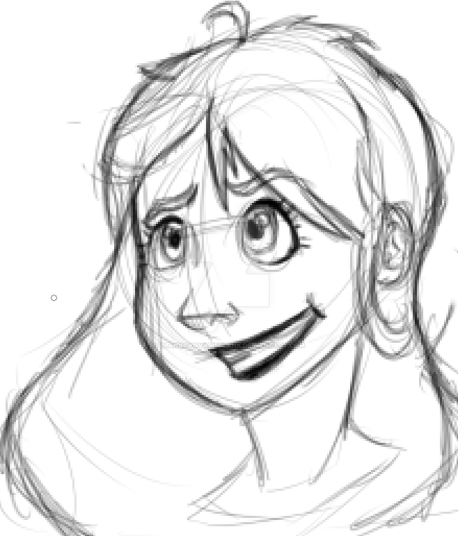 A girl named Abigail by BlankCanvasIsBlank