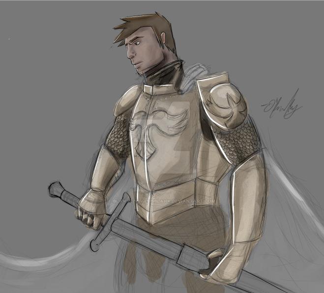 Knight [WIP] by BlankCanvasIsBlank