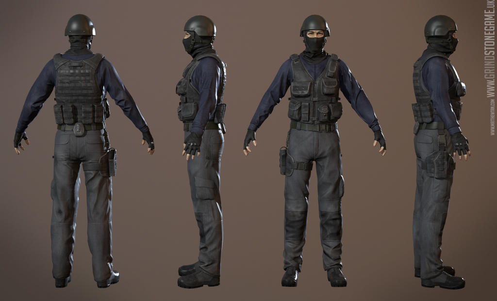 Mercenary Assault Grindstone Complete by Lapislazulix