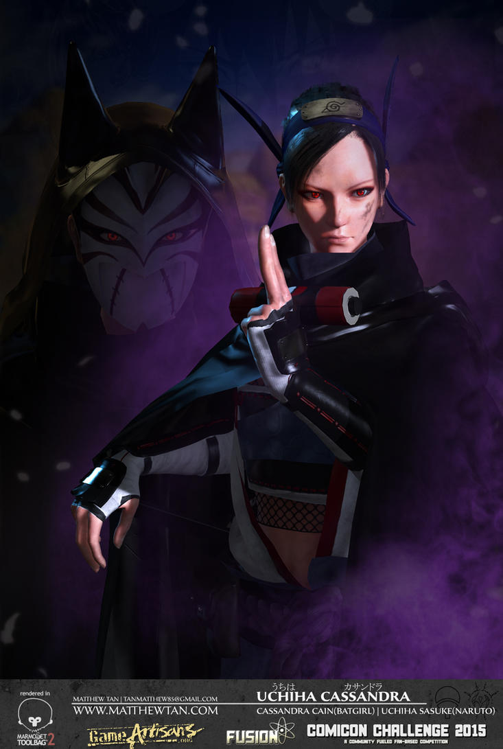 Uchiha Cassandra - Final by Lapislazulix