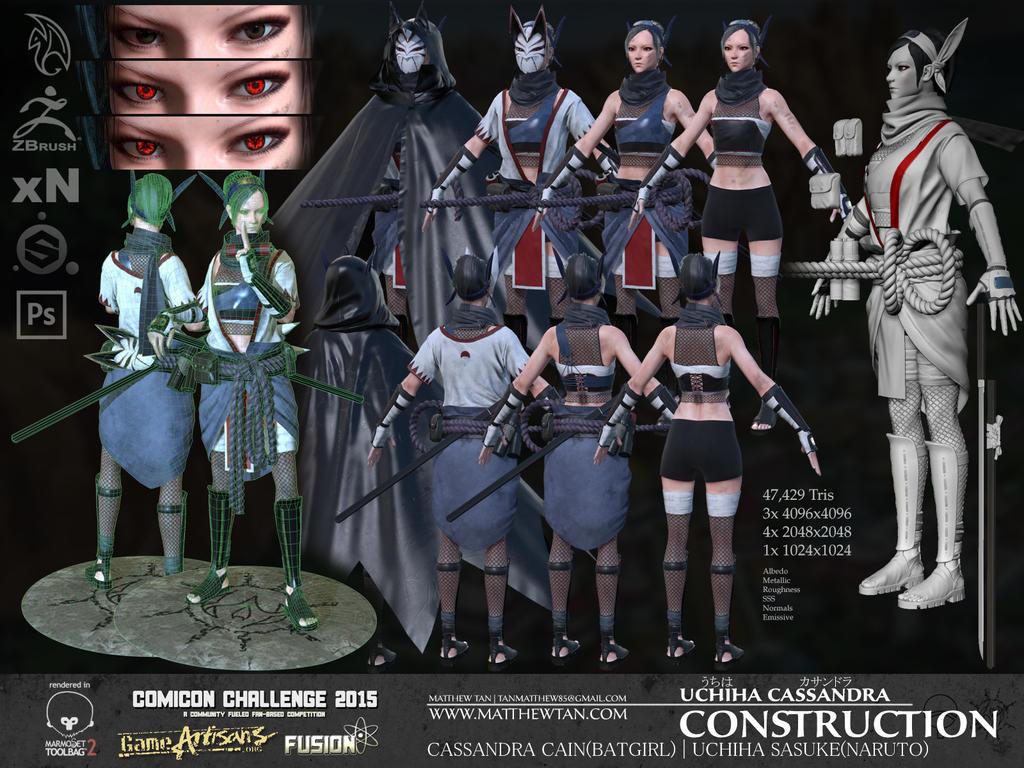Uchiha Cassandra - Construction by Lapislazulix