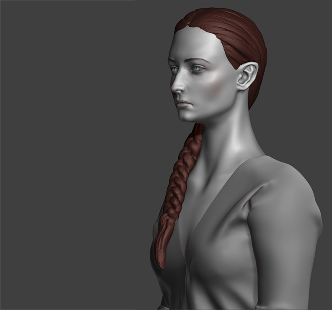 Sophie Turner (Sansa Stark) Fan art WIP by Lapislazulix