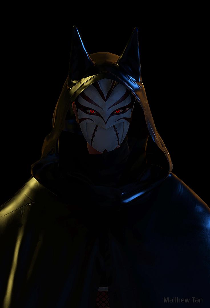 Uchiha x Batgirl by Lapislazulix