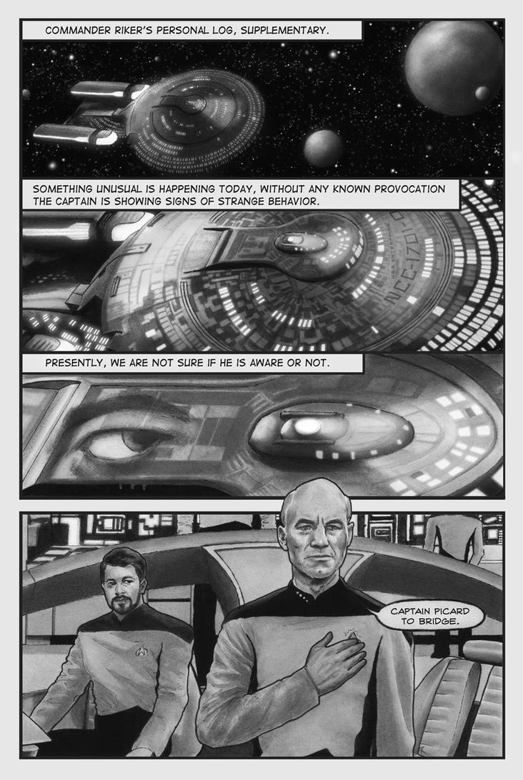 TNG: Page One by superupaman