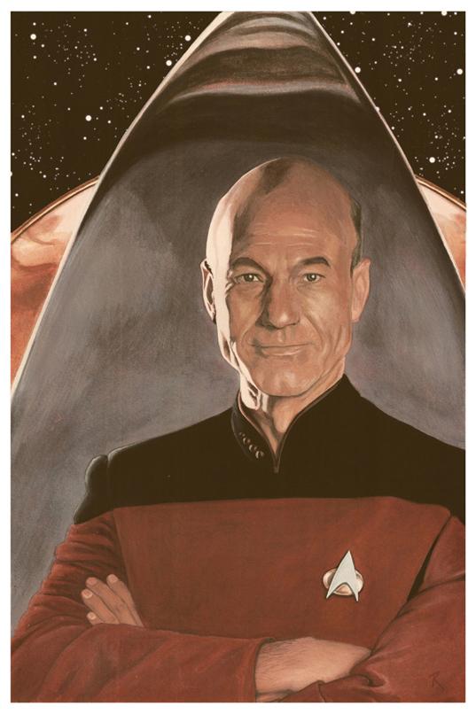 Captain Picard by superupaman