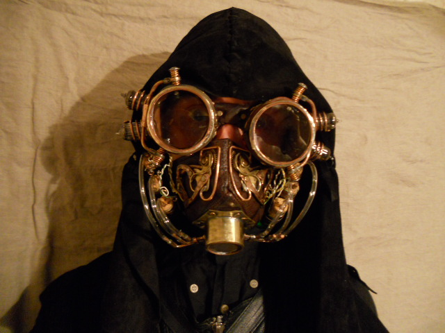 Steampunk breathmask by ChanceZero