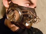 A steampunk breathmask MK II