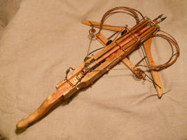 A semi-steampunk crossbow by ChanceZero