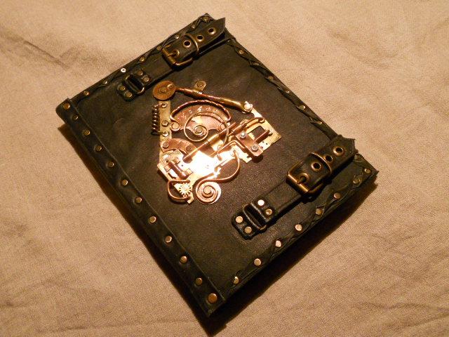Steampunk notebook by ChanceZero