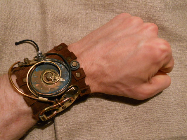 A steampunk bracelet by ChanceZero