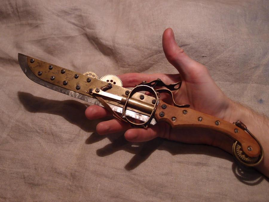 Steampunk blade: DONE by ChanceZero