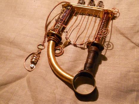 A technogenic harp