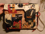 A steampunk-abstract bag