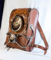Steampunk backpack by ChanceZero