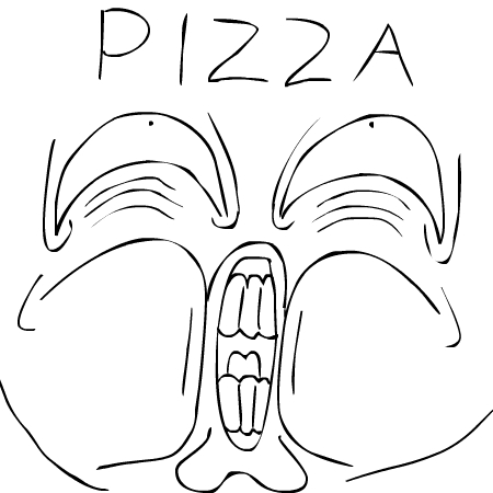 PIZZA by PeppyStevy