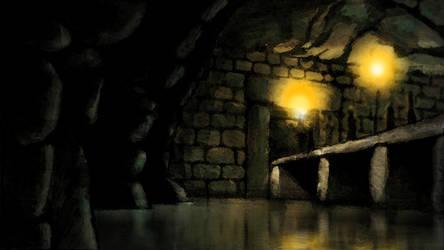 Temple Doorway (Hunters Moon Storyboard)