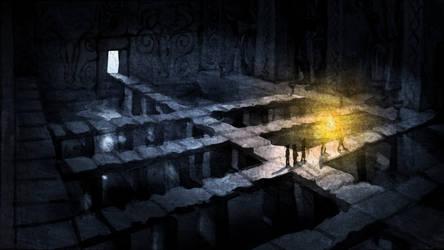 Inside The Temple by CareldeWinter