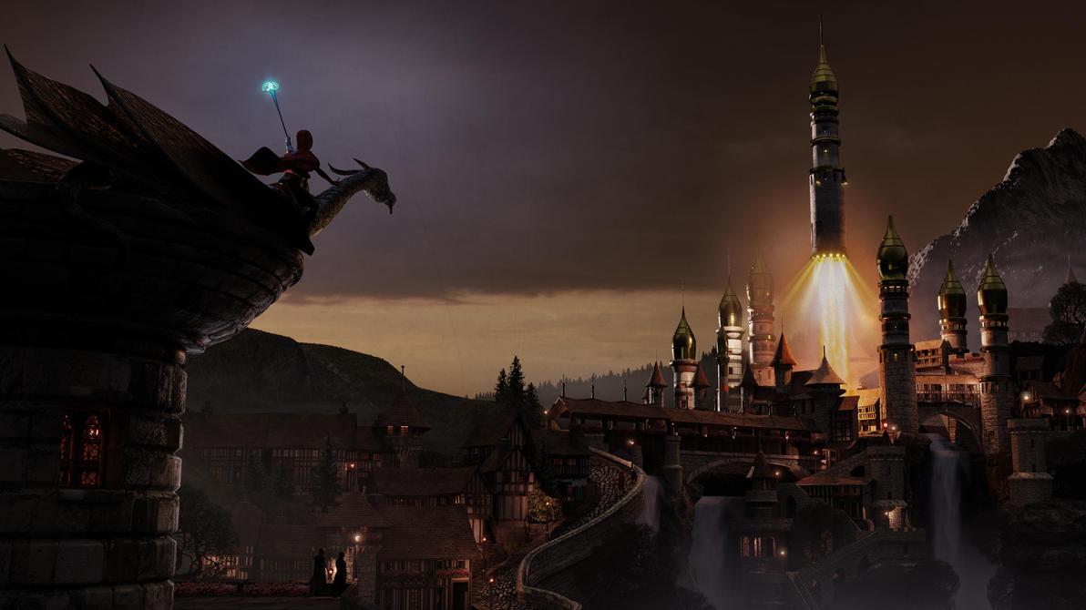 Blenderguru Fantasy Final by CareldeWinter