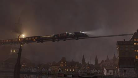 The Night Train by CareldeWinter