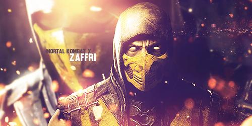 Mortal Kombat X - Scorpion Tag by Zaffri by Kinetic9074