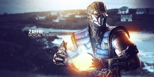 Mortal Kombat X - Sub-Zero Tag by Zaffri by Kinetic9074