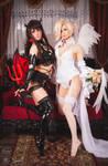 Mercy and D.Va cosplay