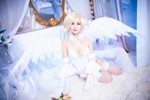 Mercy bride cosplay