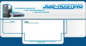 Just-Hosting Website by ToBiOh