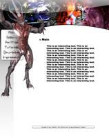 Poser Website by ToBiOh