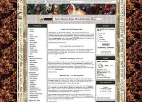 Oblivion Website by ToBiOh