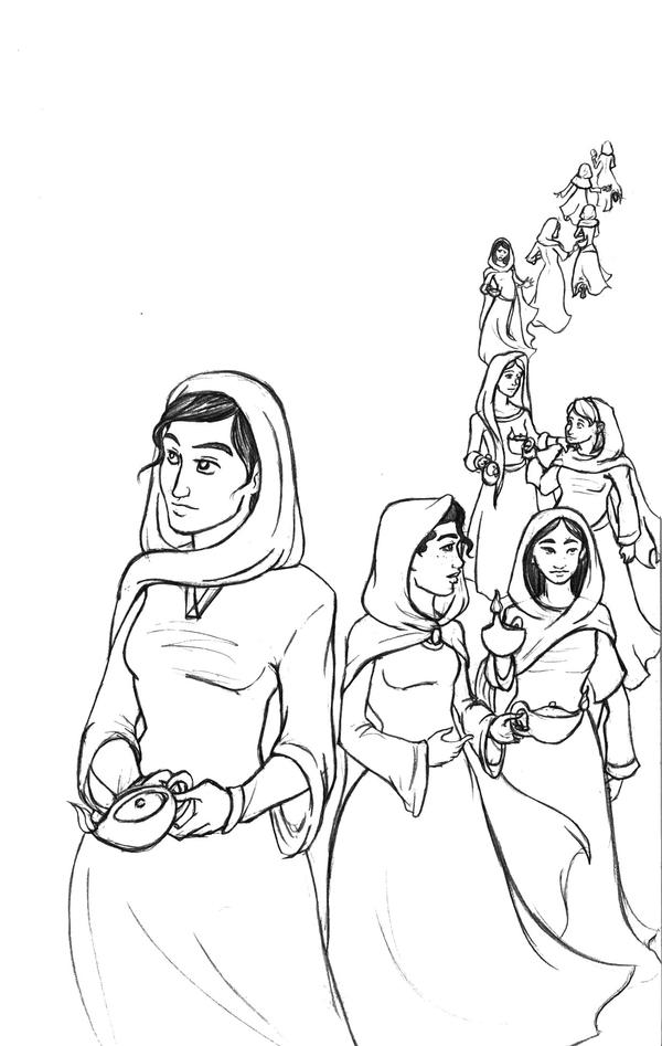 The Five and Five--WIP by Shahrezad1
