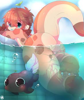 Bath Time ~