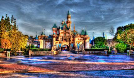 Aurora's Castle- HDR by Xx-rawr-xX