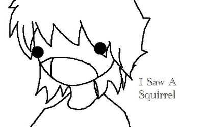 I saw a Squirrel by Greg-SKA