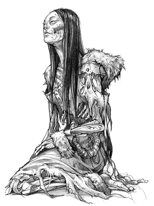 Tribal Zombie by NIGHTofTHElivingME on deviantART