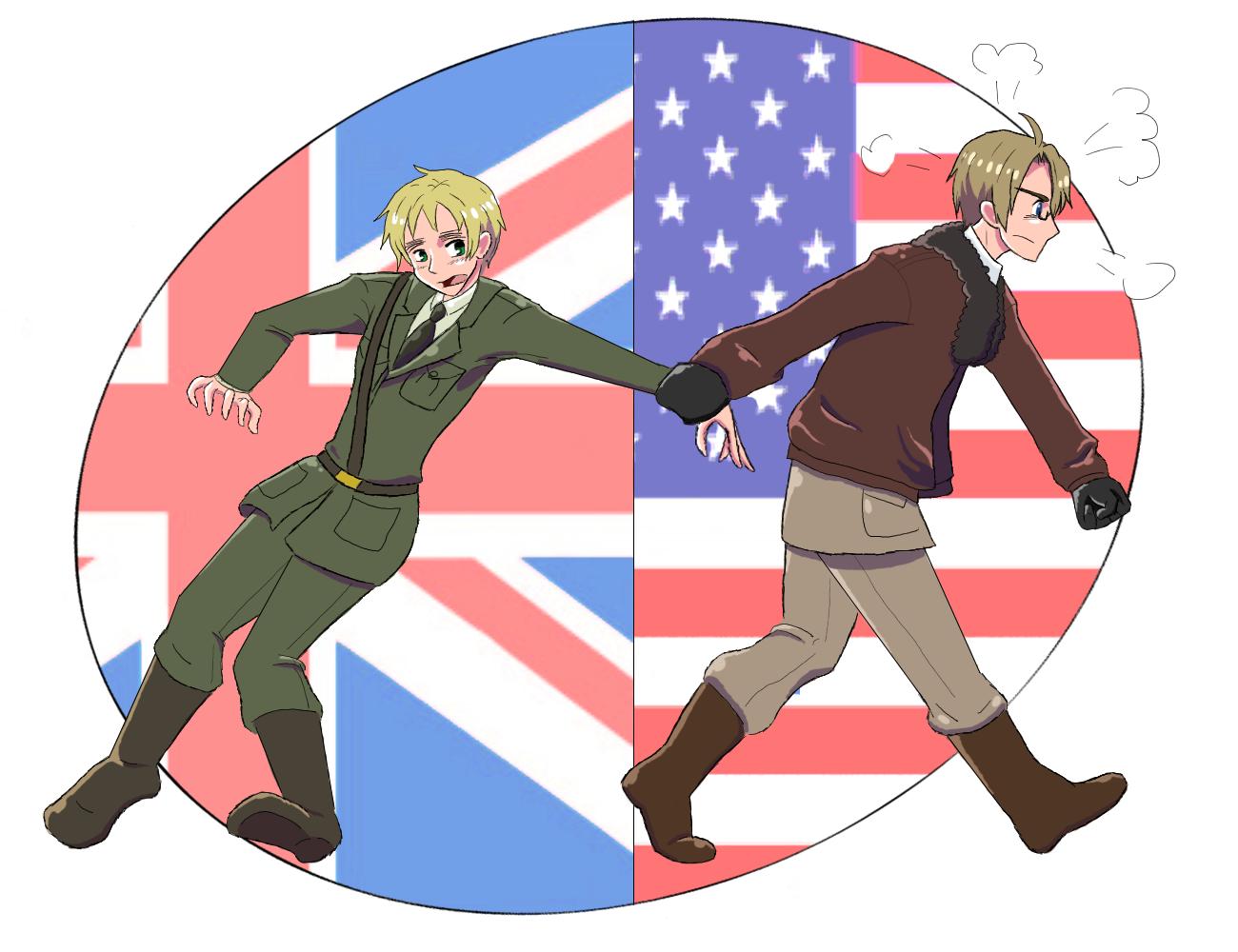 US - UK - C'mon by LizzieT