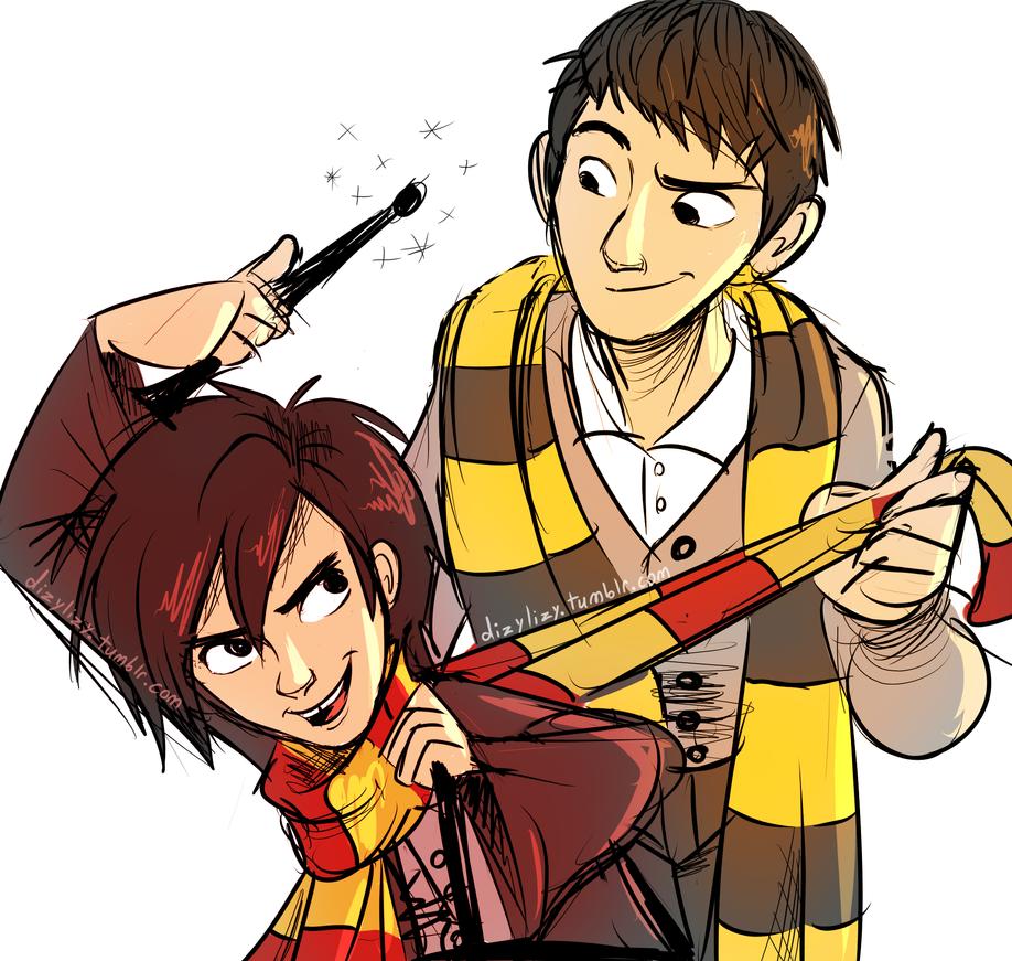 big hero hogwarts by LizzieT