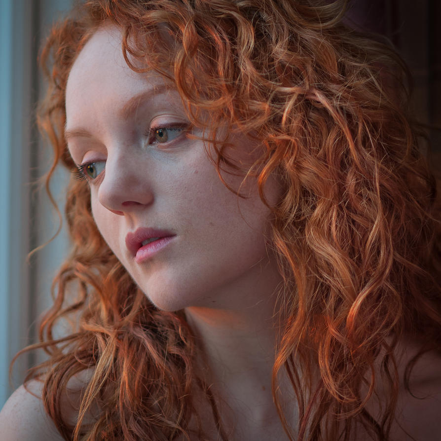 Lost in thought - Ivory Flame by EngagingPortraits