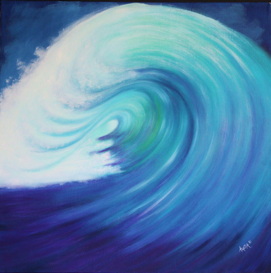 Huge Wave By Ametta On DeviantART