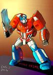 FOC Optimus Prime by CornyCartoons
