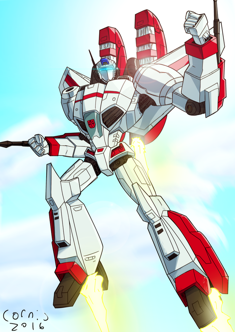 Jetfire by CornyCartoons on DeviantArt The Art Of Getting By Drawings