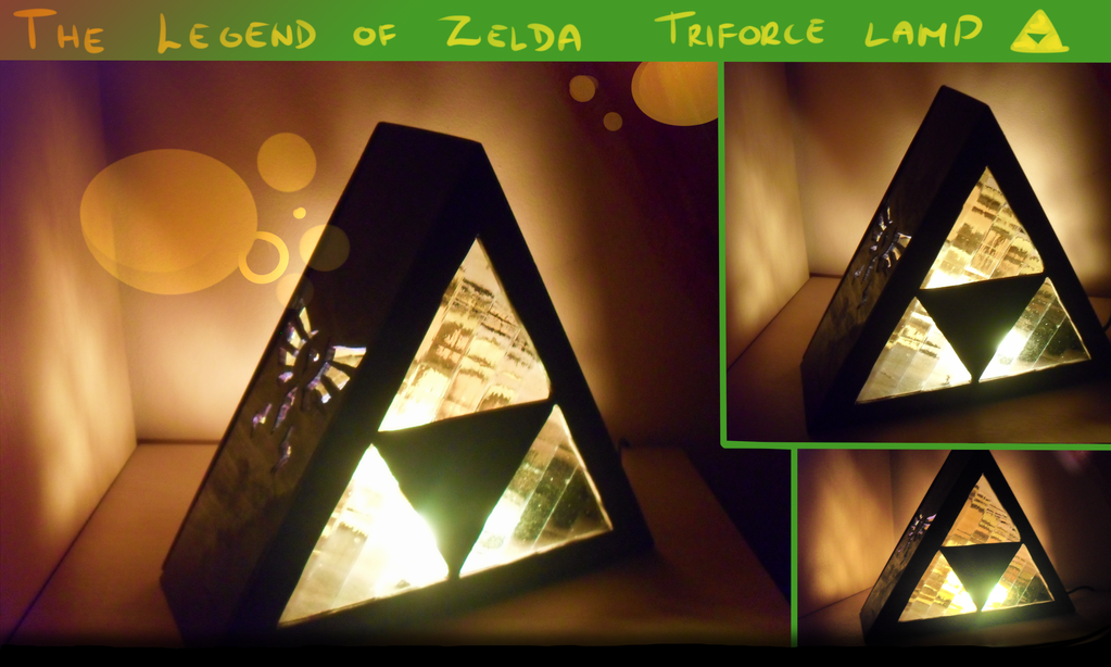 Triforce Lamp By Siinys ...