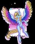 Frozen Star by Mothpress
