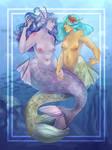 Mermaids by Mothpress